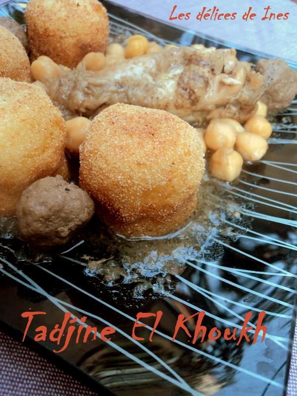 Tadjine el khoukh dans Plats algeriens DSC01843