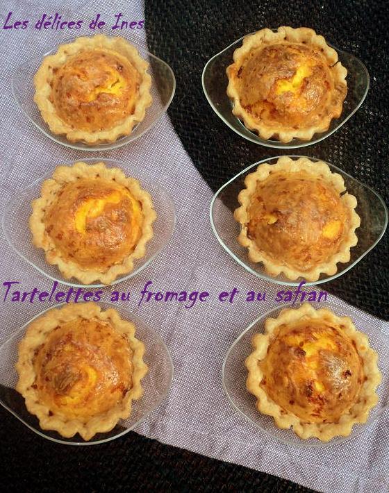 Tartelettes au fromage et au safran dans Petits salés et feuilletés DSC01848