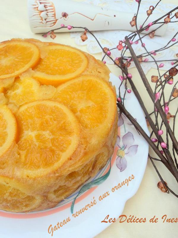 Gateau renversé aux oranges de Trish Deseine dans Dessert DSC02479