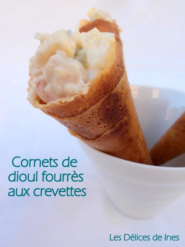 Cornets de dioul fourrés aux crevettes dans Petits salés et feuilletés DSC02618