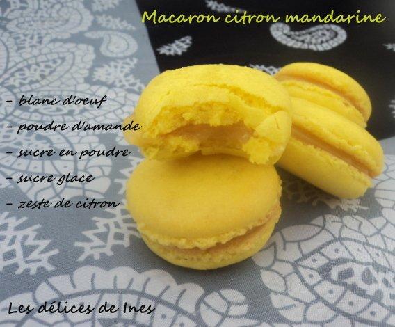 Macaron citron mandarine pour les 2 ans du blog dans Petite gourmandise et mignardise dsc03373