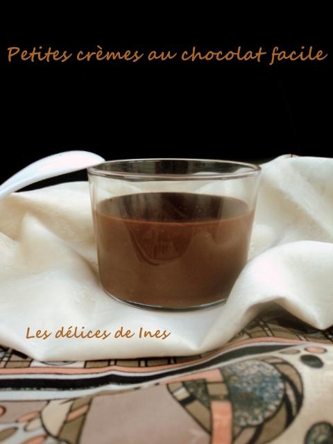 Petites crèmes au chocolat facile dans Dessert dsc03738
