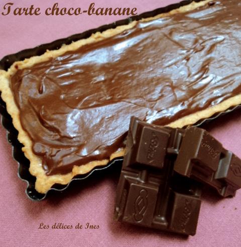 Tarte choco-banane dans Tarte sucrée dsc041521